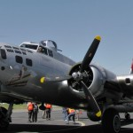 B-17G Aluminum Overcast of the Experimental Aircraft Association, Buchanan Field, Concord, CA, 2 May 2011 (Photo: Sarah Sundin)