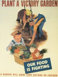 US poster promoting Victory Gardens, 1943