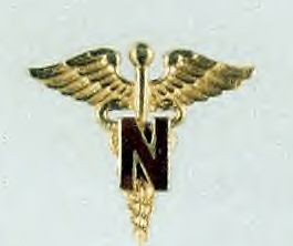 US Army Nurse Corps Caduceus, WWII