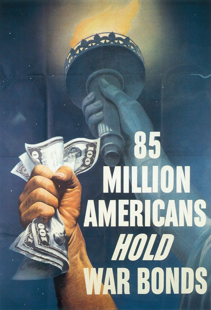 US War Bond Poster, 1945