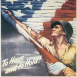 US War Bond poster, WWII