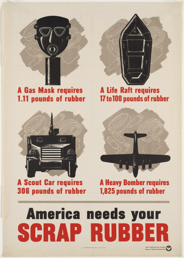 US poster, WWII