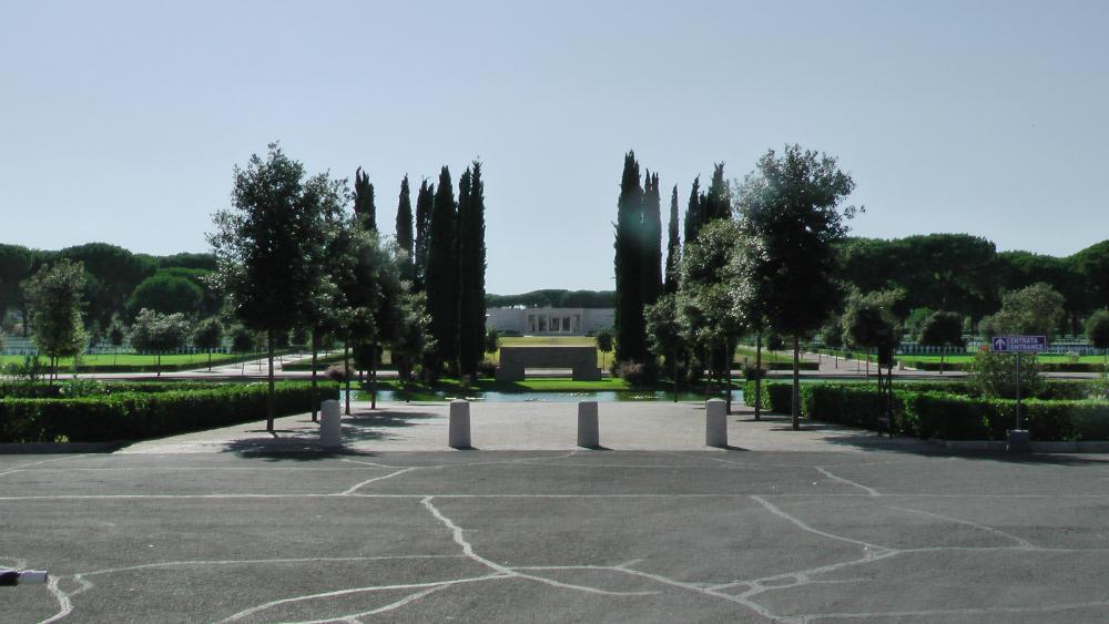 Sicily-Rome American Cemetery, Nettuno, Italy, July 2011 (Photo: Sarah Sundin)