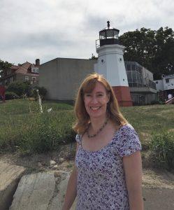 At the Vermilion Lighthouse (Photo: Sarah Sundin, August 2016)