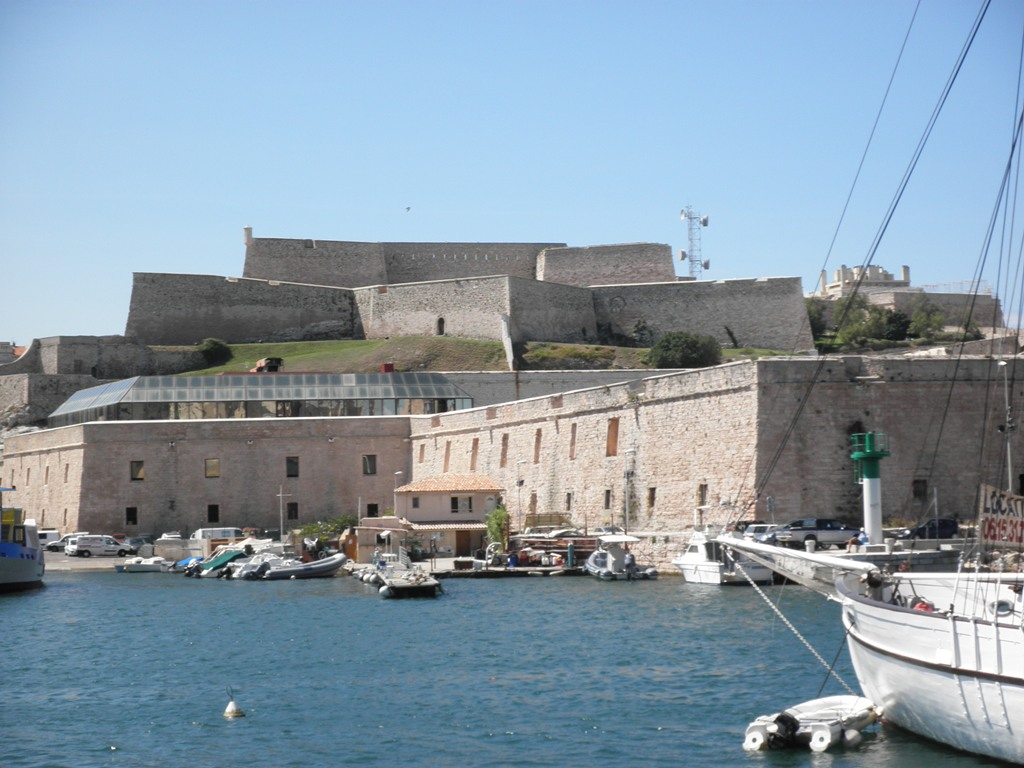 Fort St-Nicolas, Marseille, France, August 2011 (Photo: Sarah Sundin)