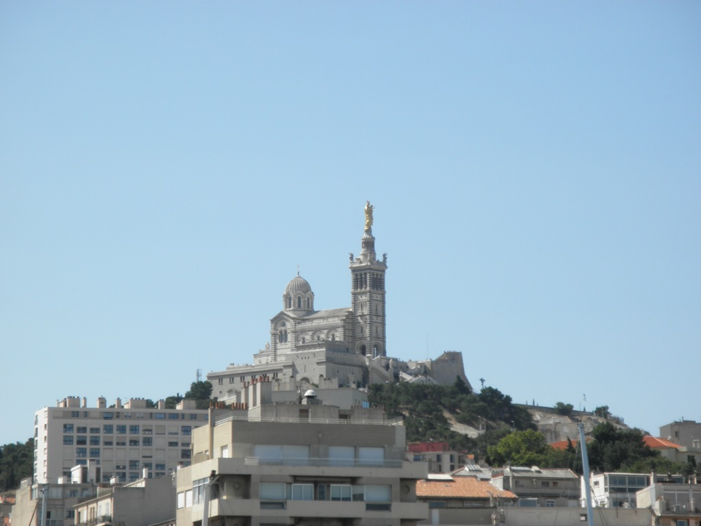 Notre Dame de la Garde cathedral, Marseille, France, August 2011 (Photo: Sarah Sundin)