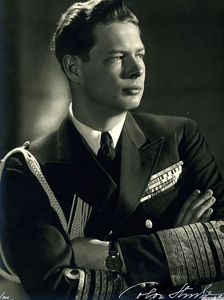 King Michael I of Romania, 1947 (public domain via Wikipedia)