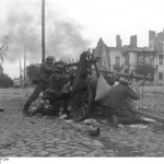 German troops in a Polish town, September 1939 (German Federal Archive, Bild 101I-012-0037-23A)