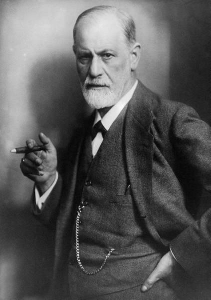Sigmund Freud, 1922 (LIFE, public domain)