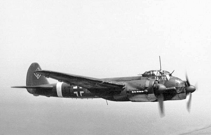 Junkers Ju 88A over France, 1942 (German Federal Archives, Bild 101I-363-2258-11 / Rompel)