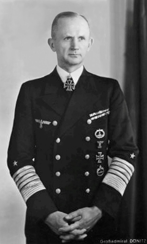 German Adm. Karl Dönitz, April 1943 (German Federal Archive: Bild 146-1976-127-06A)