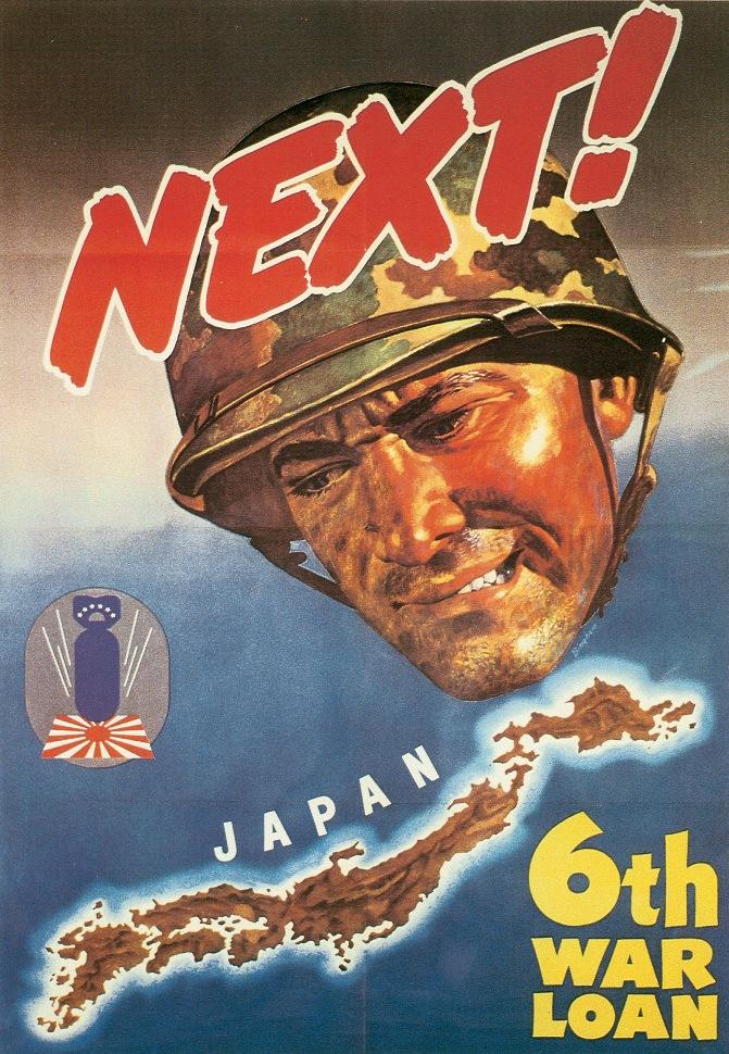 US Sixth War Loan Drive poster, Nov. 20-Dec. 16, 1944