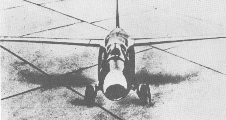Heinkel 178 prototype, unknown date (US Air Force photo)