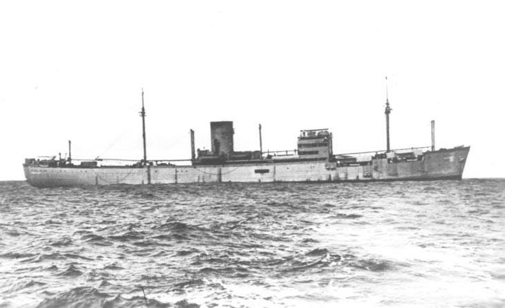 German auxiliary cruiser Atlantis (United Kingdom government photo, public domain)
