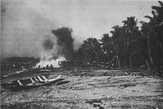 US Eighth Army landing at Cebu, 27 March 1945 (US Army Center of Military History)