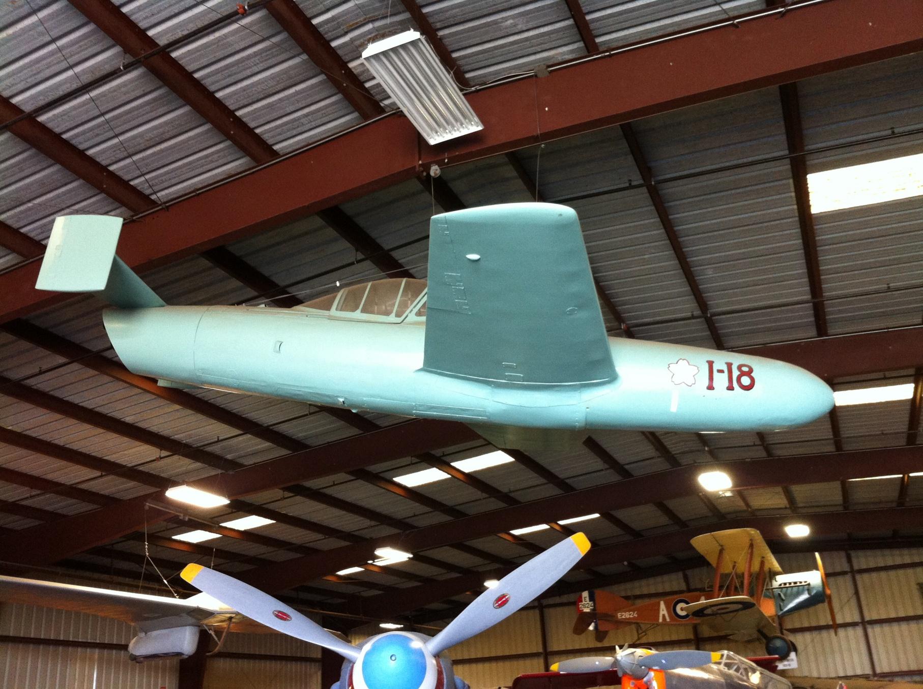 Ohka at Planes of Fame Museum, Chino, CA, November 2014 (Photo: Sarah Sundin)