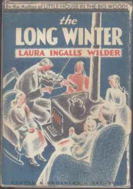 Cover of 1st edition of The Long Winter by Laura Ingalls Wilder, 1940