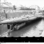 German U-boat U-37 at Lorient, France, 1940 (German Federal Archive: Bild 101II-MW-1032-11A)