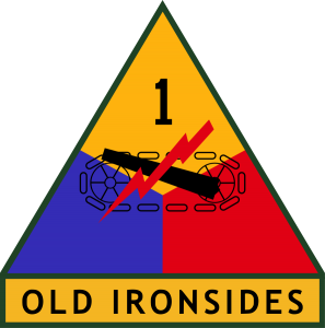 Insignia of the US 1st Armored Division