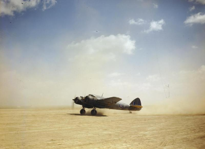 Bristol Beaufighter IF V8318 `F-Freddie' of RAF No 252 Squadron, Magrun, Libya, April 1943 (Imperial War Museum: TR 903)