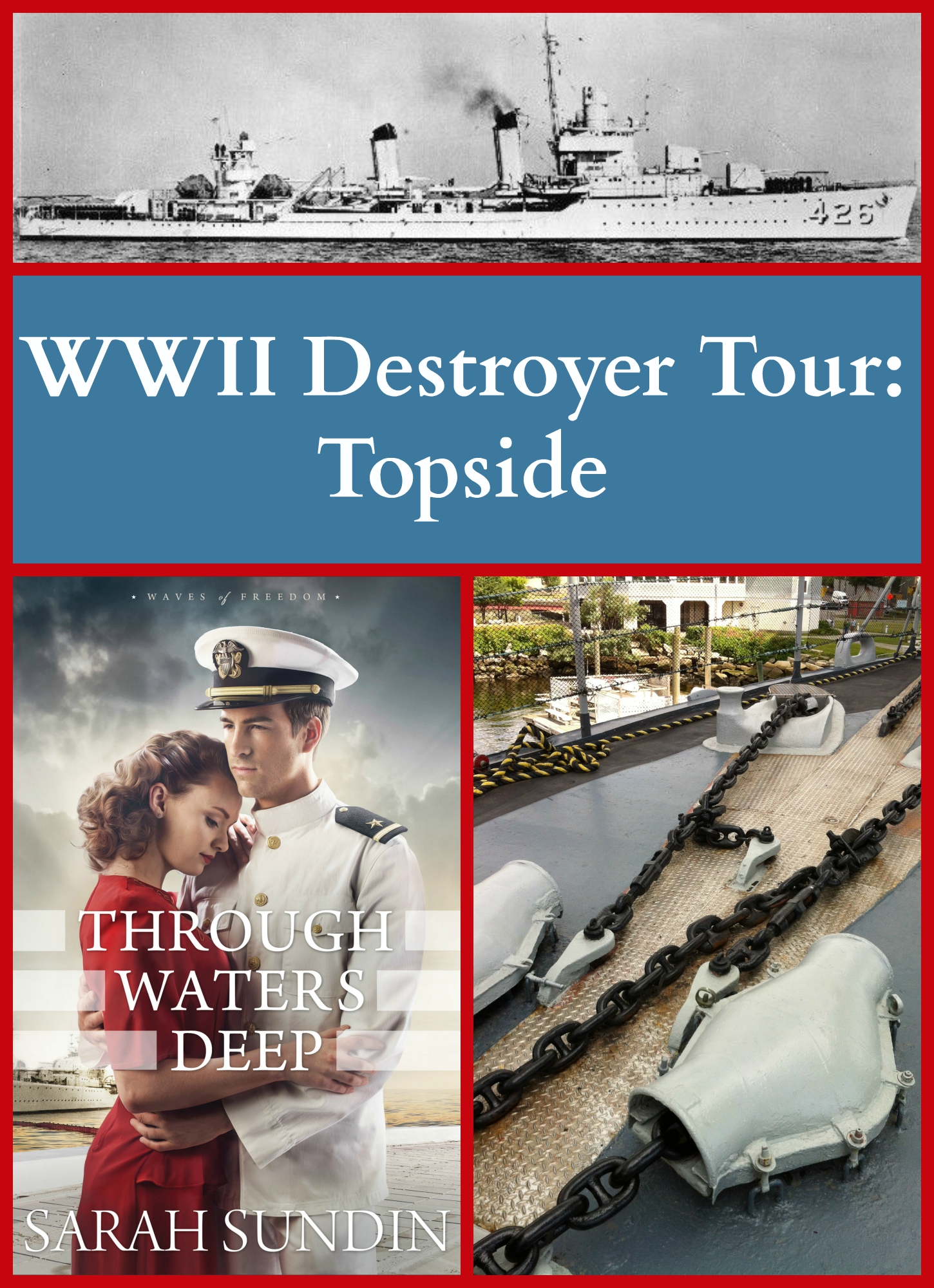 through waters deep destroyer tour topside