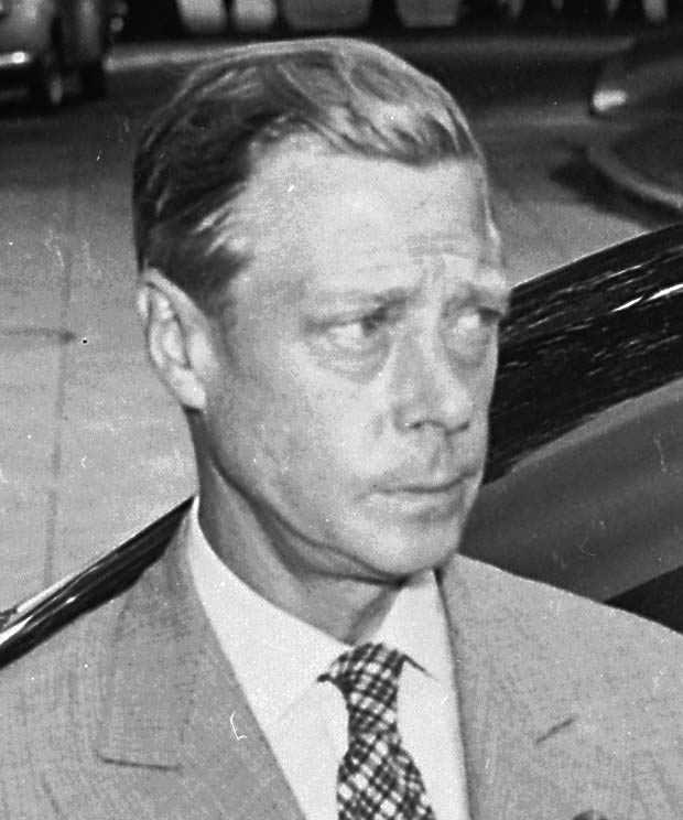 Duke of Windsor, Washington, DC, 14 Aug 1945 (US National Archives: 199164)