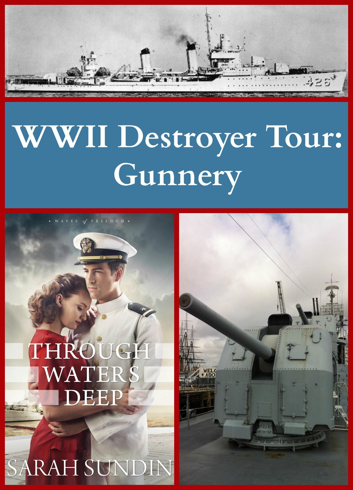 through waters deep destroyer tour gunnery