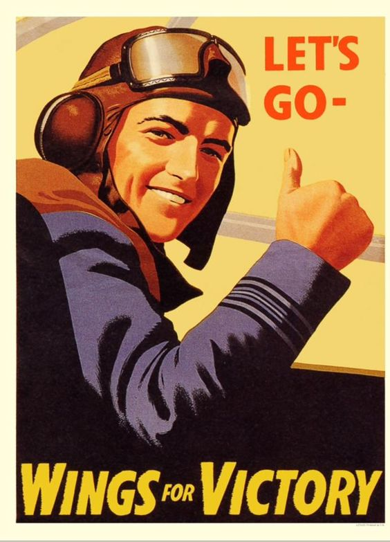 British poster, WWII