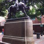 Statue of Paul Revere, Boston, erected 22 September 1940 (Photo: Sarah Sundin, July 2014)