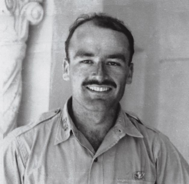 Peter Dewey, WWII (Photo: US Office of Strategic Services)