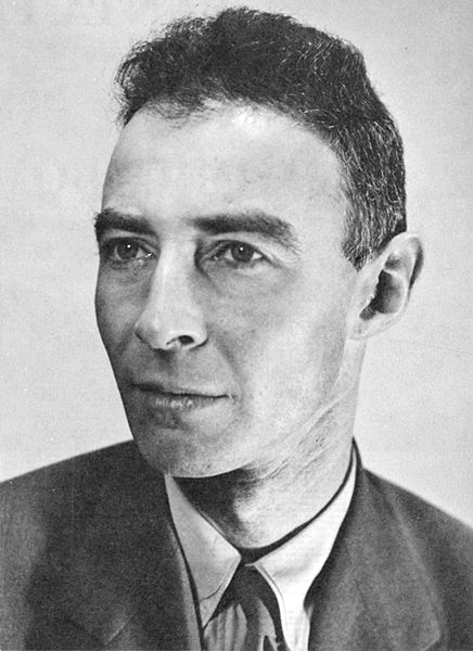 J. Robert Oppenheimer, first director of Los Alamos National Laboratory (US Department of Energy photo)