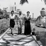 Pres. Sergio Osmeña of the Philippines and his family, Malacañang Palace, 1945 (public domain via government of the Philippines, via Wikipedia)
