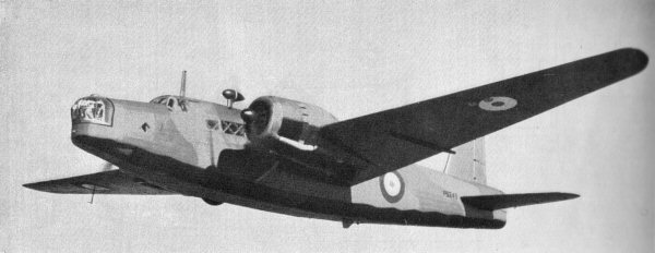 Vickers Wellington Mk.I medium bomber (British government photo)