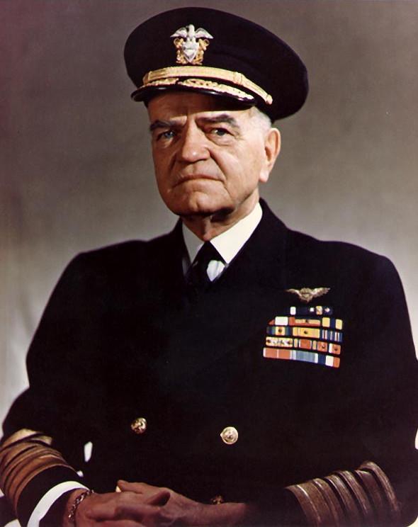 US Fleet Admiral William F. Halsey Jr., 1945 (US Navy photo: 80-G-K-15137)