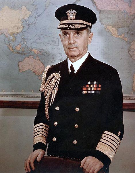 Fleet Admiral William D. Leahy, 1945 (US Navy photo)