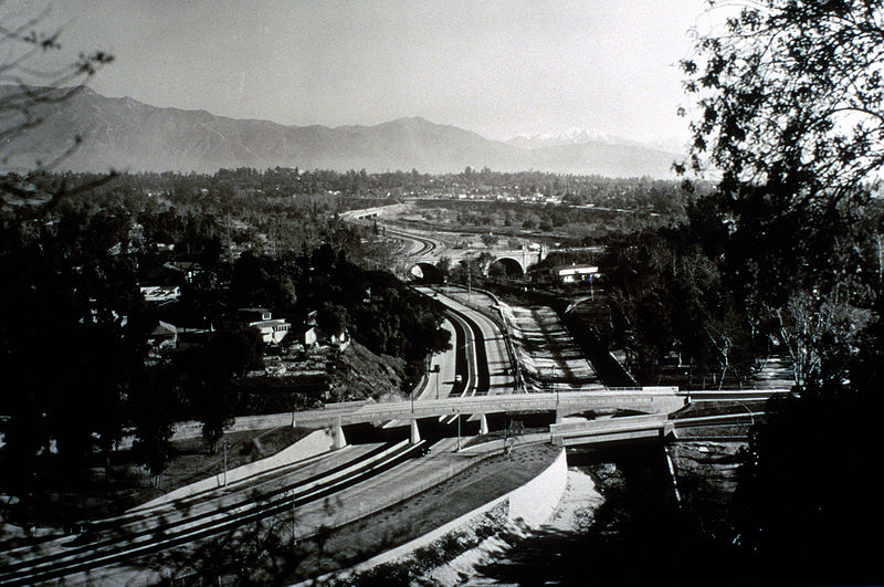 Arroyo Seco Parkway, 1940 (CalTrans photo)
