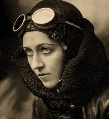 British aviatrix Amy Johnson, 1930 (British government photo)