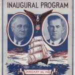 Inaugural program of Franklin Roosevelt and Henry Wallace, 20 Jan 1941 (public domain via USMC Thaddeus Sandifer Collection)