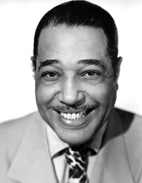 Duke Ellington publicity photo, 1940s (public domain via Wikipedia)