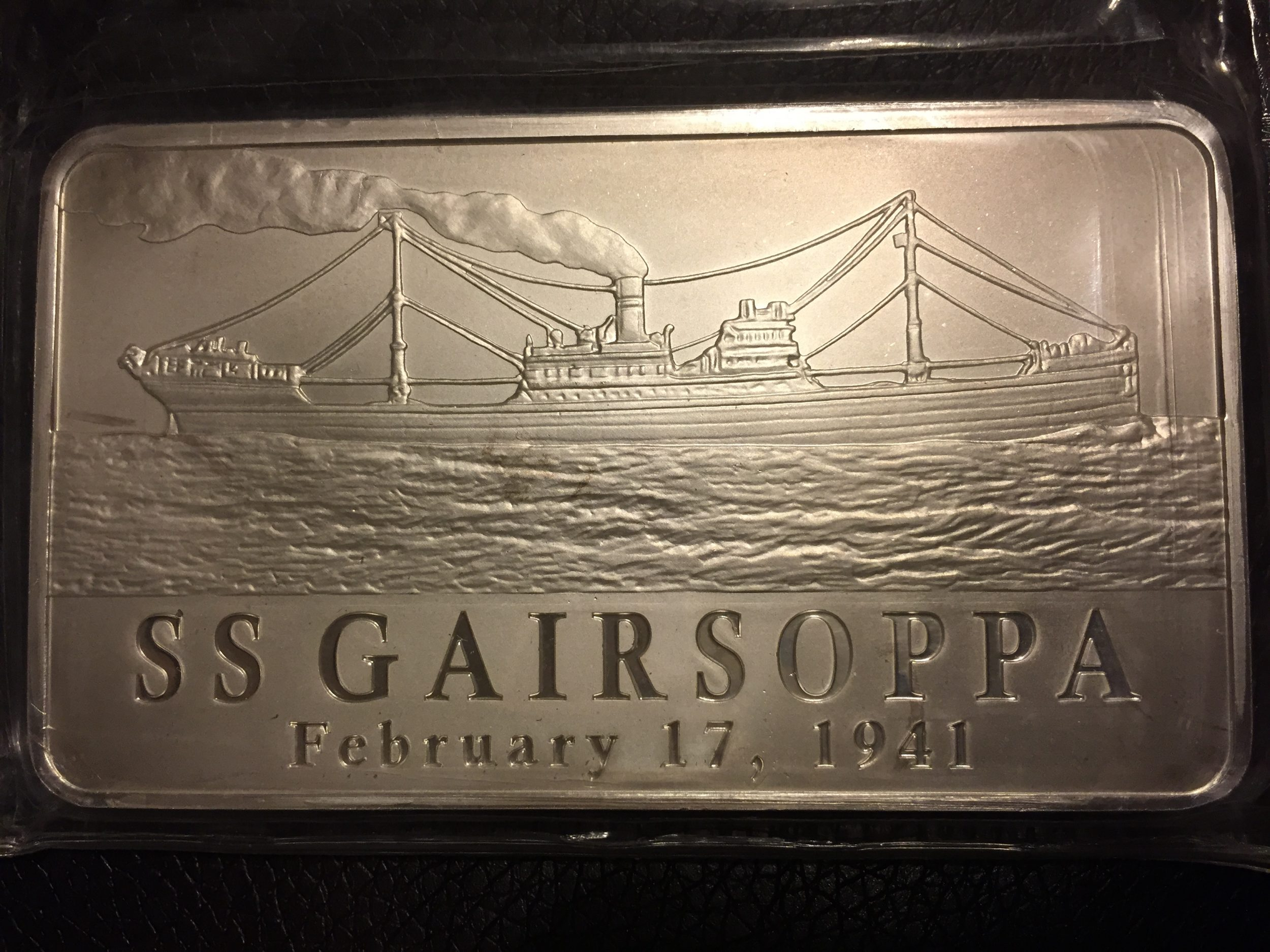 Silver salvaged from wreck of SS Gairsoppa in 2011 (Sarah Sundin collection)
