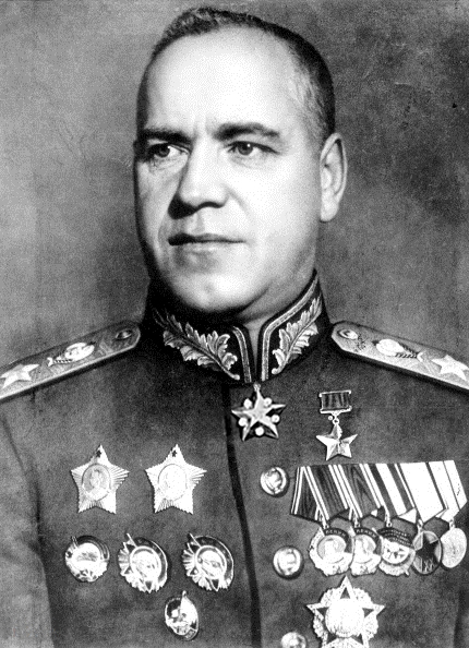 Georgy Zhukov, 1944 (Photo: Life Magazine, 31 July 1944, photograph by Grigory Vayl; public domain)