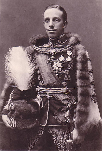 King Alfonso XIII of Spain, c. 1923 (public domain via Wikipedia)