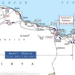 Map of Italian and British offensives in Libya and Egypt, 13 September 1940-7 February 1941 (US Military Academy)