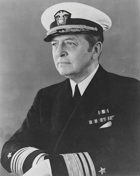 Vice Adm. Adolphus Andrews, WWII (US Naval History and Heritage Command: NH 56042)