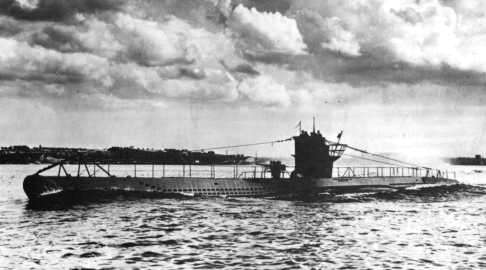 German U-boat U-100, 1940 (public domain via Wikipedia)