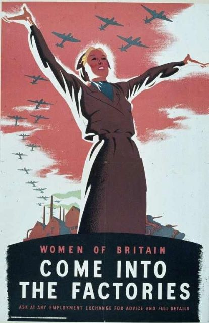 British poster, WWII