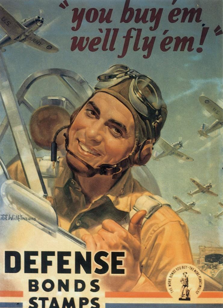 US Defense Bond poster, 1942