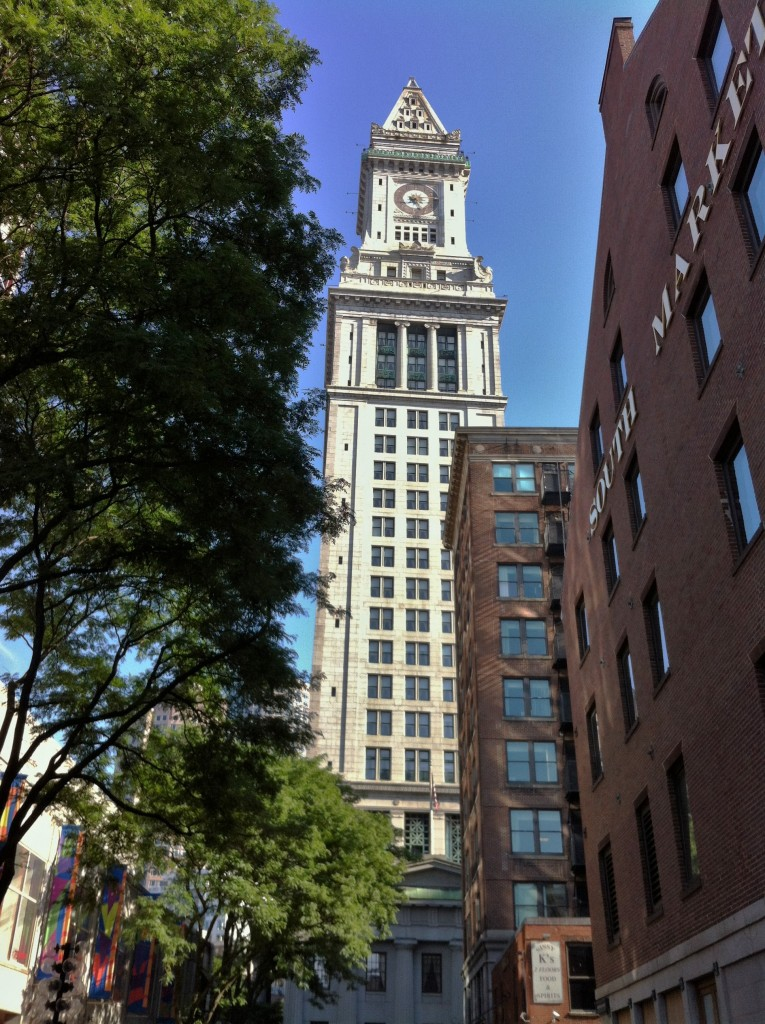 Custom House, Boston, MA (Photo: Sarah Sundin, July 2014)