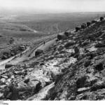 German troops advancing up the coast road towards the British lines, Libya, spring 1941 (German Federal Archives: Bild 1011-782-0049-21)