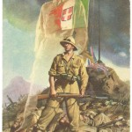 Poster calling Italians to avenge the defeat in East Africa, 1941. (public domain)